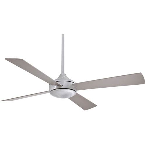 Aluma Brushed Aluminum 52 Inch Ceiling Fan