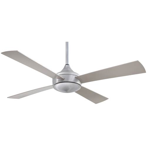 Aluma Wet Brushed Aluminum 52-Inch Ceiling Fan