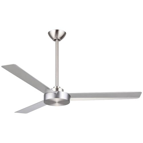 Roto Brushed Aluminum 52-Inch Ceiling Fan