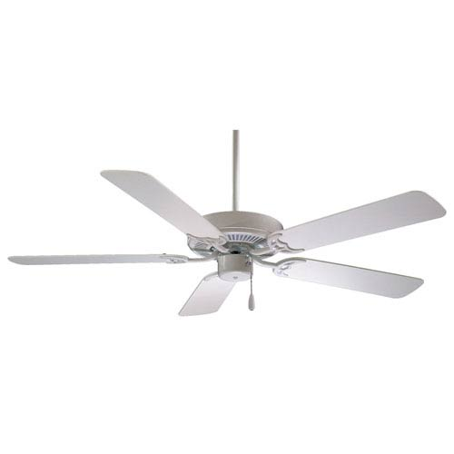 42-Inch Contractor White Ceiling Fan