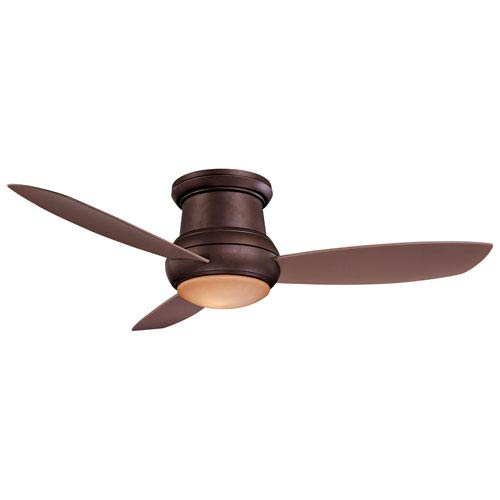 Concept II Oil Rubbed Bronze 52-Inch Outdoor LED Ceiling Fan