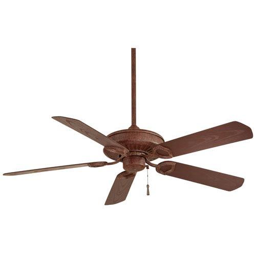 54-Inch Sundowner Vintage Rust Indoor/Outdoor Energy Star Ceiling Fan