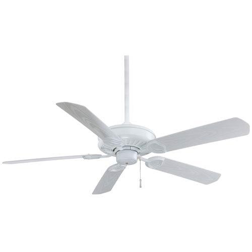 Sundowner White  54-Inch Ceiling Fan