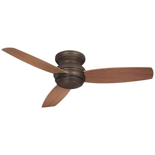 Traditional Concept Oil Rubbed Bronze 52-Inch Outdoor LED Ceiling Fan