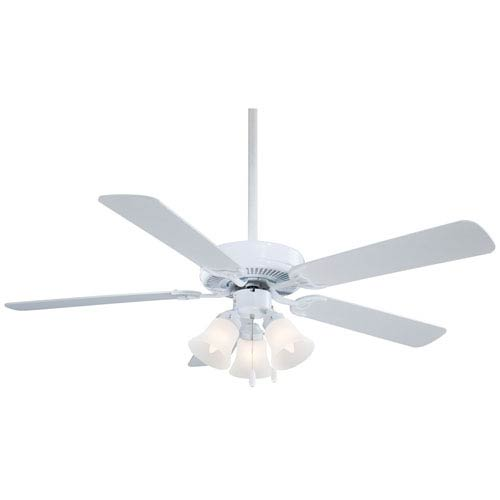 Minka Aire Contractor White 52-Inch Ceiling Fan