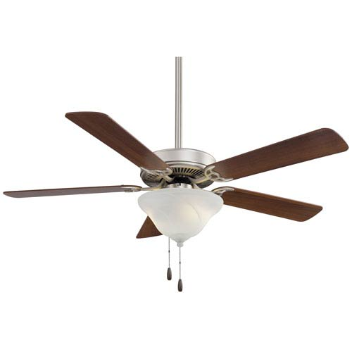 Contractor Brushed Steel 52-Inch Energy Star Ceiling Fan