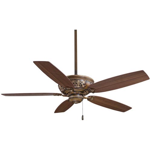 Classica Belcaro Walnut 54-Inch Ceiling Fan