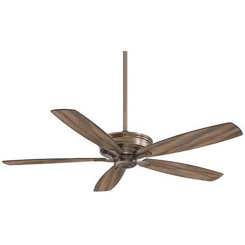 Minka Aire Kafe Heirloom Bronze 60-Inch Ceiling Fan