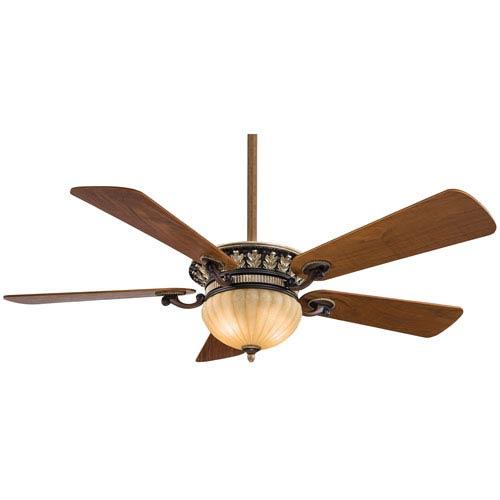 Volterra Belcaro Walnut 52-Inch Ceiling Fan