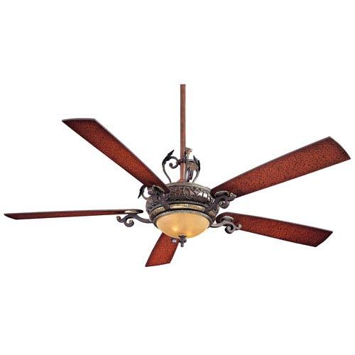 Napoli Ii 68 Inch Sterling Walnut Ceiling Fan