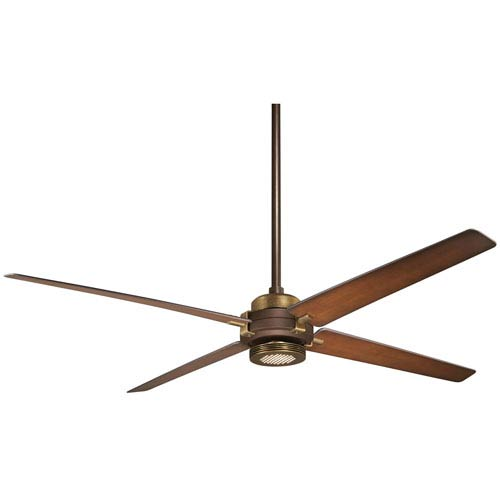 Spectre Oil Rubbed Bronze 60-Inch Ceiling Fan with Tobacco Blades
