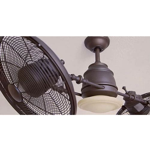 Minka Aire Vintage Gyro Oil Rubbed Bronze 42 Inch Ceiling