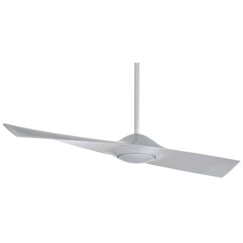 Wing Silver 52-Inch Ceiling Fan