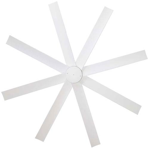 Minka Aire Slipstream 65 Inch Ceiling Fan In Flat White