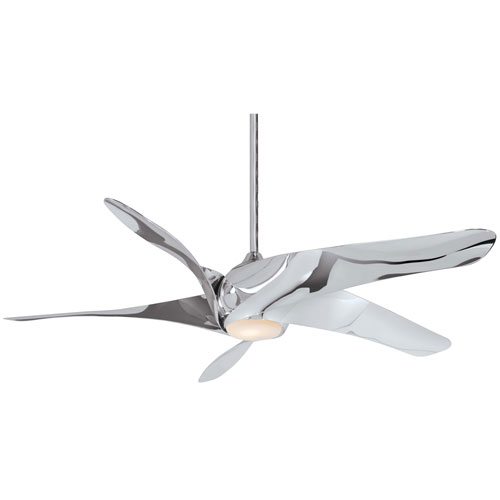 Artemis Liquid Nickel LED 62-Inch Ceiling Fan