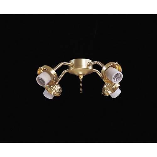 Satin Brass 4 Light Kit