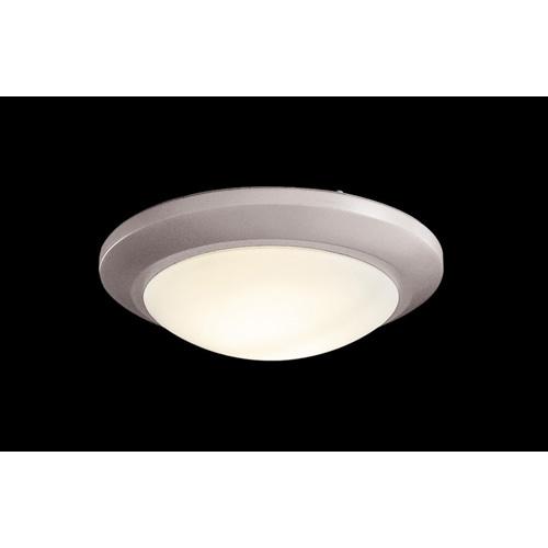 Brushed Steel Halogen Fan Light
