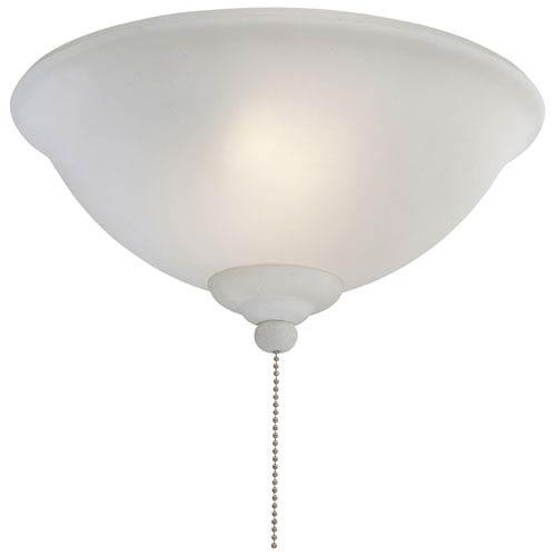 French Scavo Two Light Fluorescent Ceiling Fan Light Kit