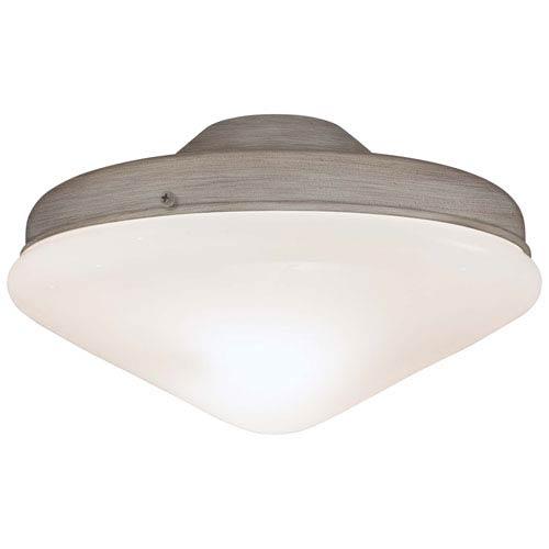 Driftwood Two-Light Universal Ceiling Fan Kit