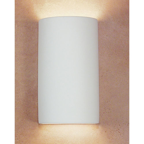 A-19 Lighting Gran Tenos Bisque Flush Wall Sconce