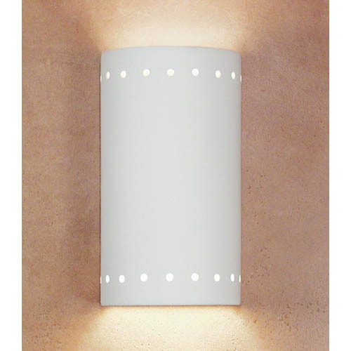 Melos Bisque Wall Sconce