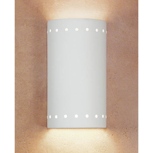 Gran Melos Bisque Wall Sconce