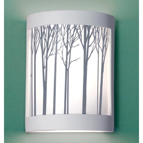 Ansel Satin White Wall Sconce