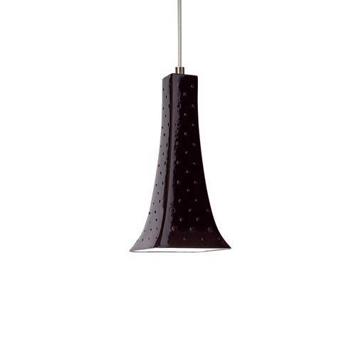Eiffel Low Voltage Black Gloss Mini Pendant