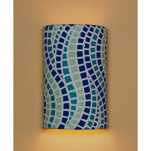 A-19 Lighting Channels Multicolor Wall Sconce