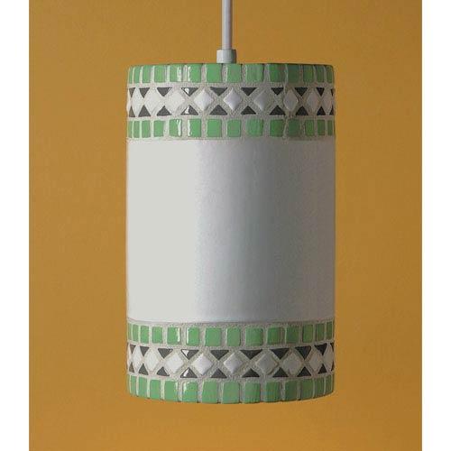Borders Mint Green Mini Pendant