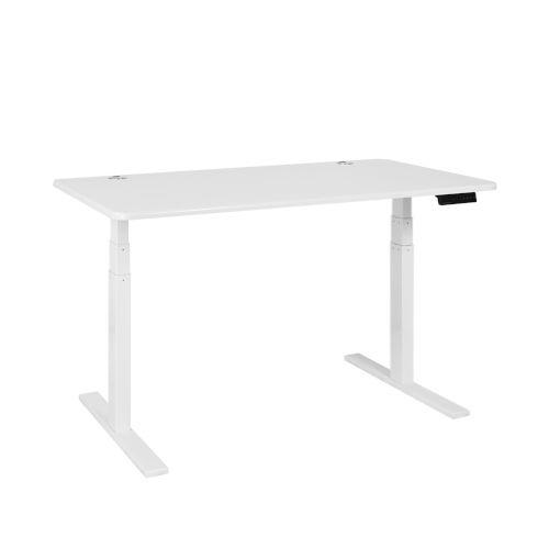 Autonomous White Frame White Classic Top Premium Adjustable Height Standing Desk