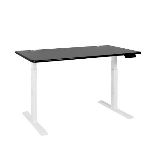 Autonomous White Frame Black Classic Top Premium Adjustable Height Standing Desk