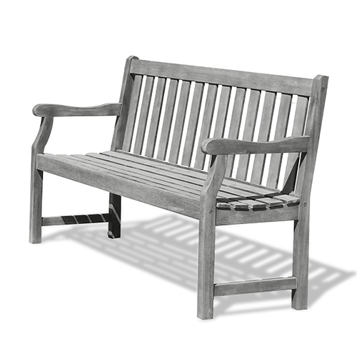 Renaissance Eco-friendly 5-foot Outdoor Hand-scraped Hardwood Garden Bench