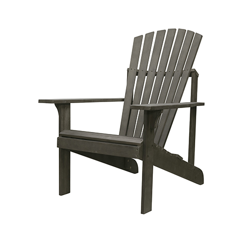 Renaissance Grey Wood Adirondack Chair