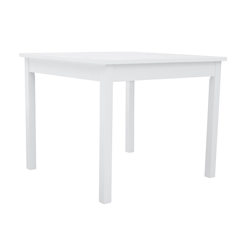 Bradley White Outdoor Stacking Table