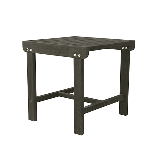 Renaissance Grey Outdoor Wood Side Table