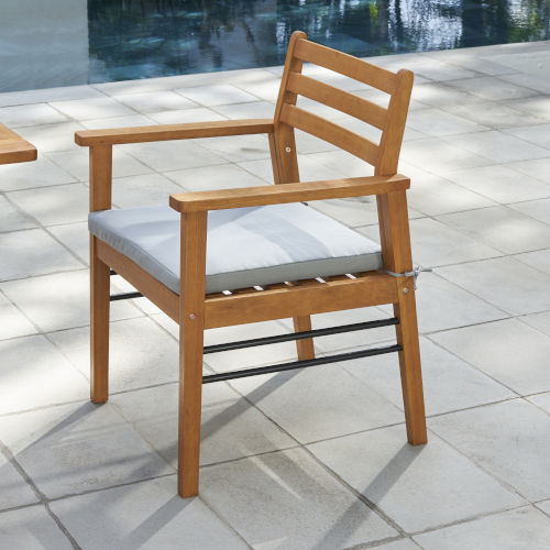 Gloucester Natural Wood Patio Dining Chair