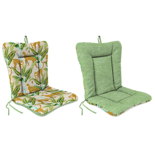 Tory Palm Enzel Linen 21 x 38 Inch Reversible Outdoor Chair Cushion
