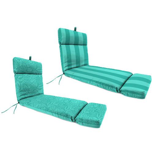 Preview Stripe Lagoon Maven Lagoon Reversible Universal Lounge Cushion