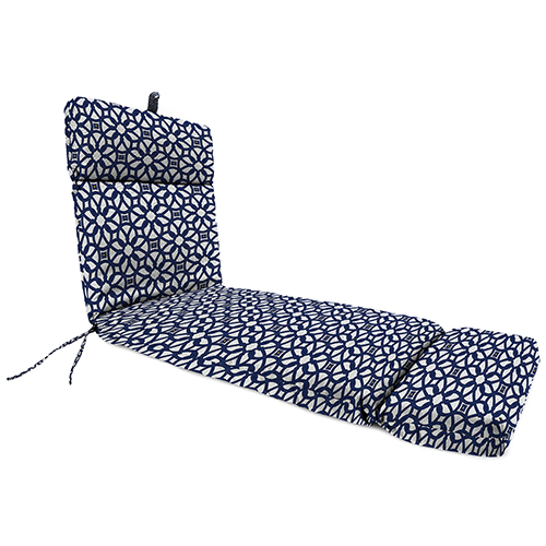 22-Inch x 72-Inch x 4-Inch Outdoor Chaise Cushion- 1-Pack