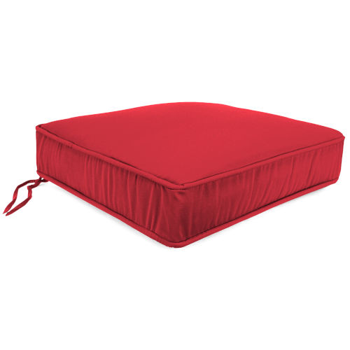 Blush Outdoor Boxed Edge Deep Seat Cushion
