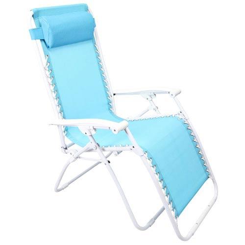Jordan Manufacturing Company Zero Gravity Chairs Turquoise Zero Gravity Chair