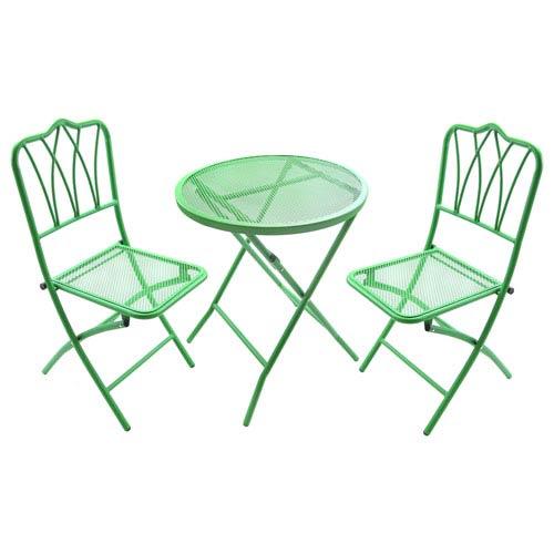 Green 3 Piece Bistro Set