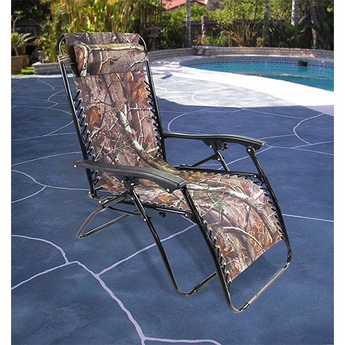 Camouflage Extra Large Zero Gravity Chair