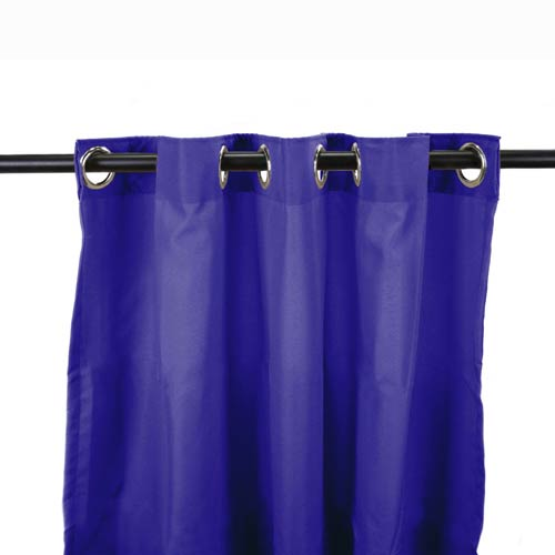 Jordan Manufacturing Company Admiral 54-Inch Outdoor Curtain Panel