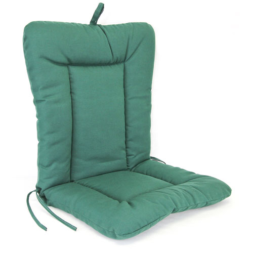 Jordan Manufacturing Company Forest Green Euro Style Chair Cushion