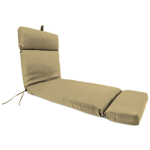 Universal Canvas Heather Beige Chaise Lounge Chair Cushion