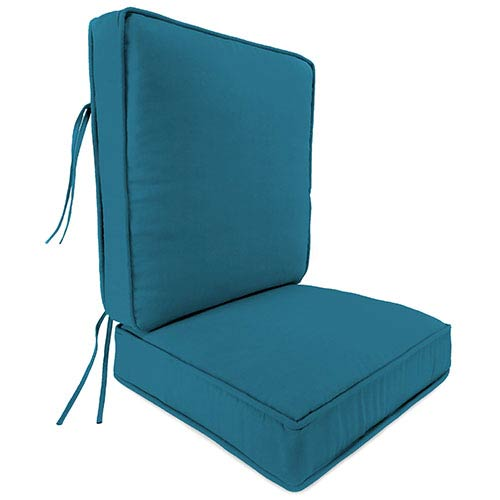 Fresco Peacock Deep Seat Chair Cushion