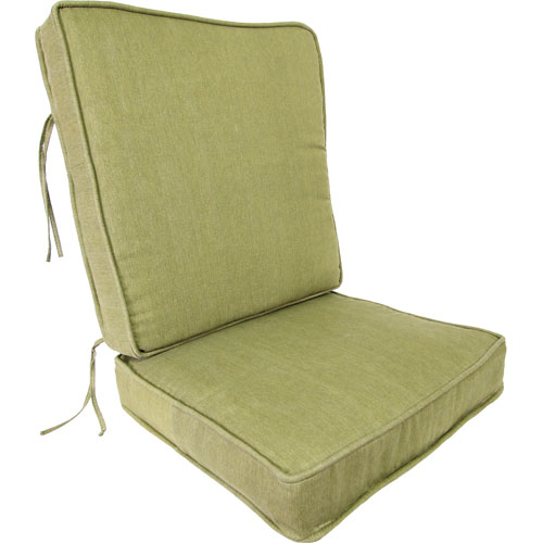 Olive Deep Seating Cushion-Seat and Back