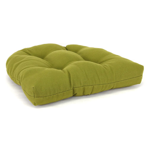 Jordan Manufacturing Company Olive Wicker Chair Cushion With Sewn In  Buttons 9915pk1 297C | Bellacor